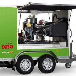 DiBo JMB-C+ warmwaterhogedrukreiniger