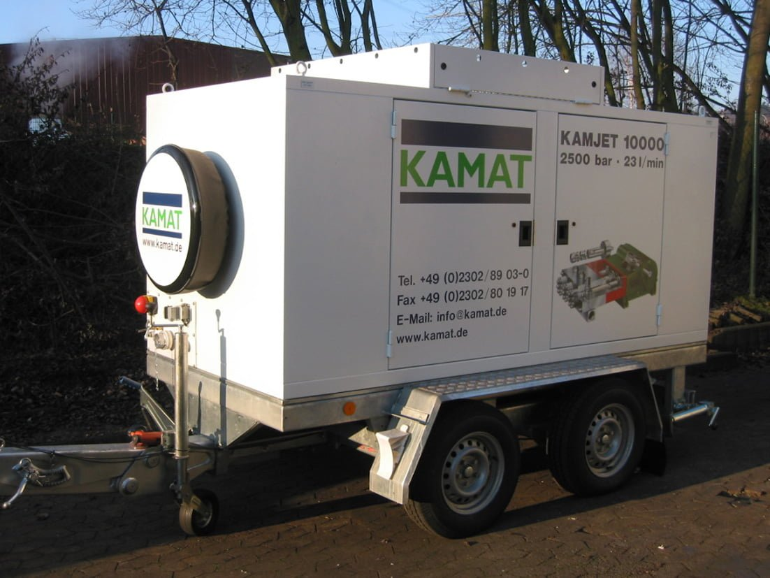 KAMJET 10000 - High Pressure Water Technology - 2500 BAR