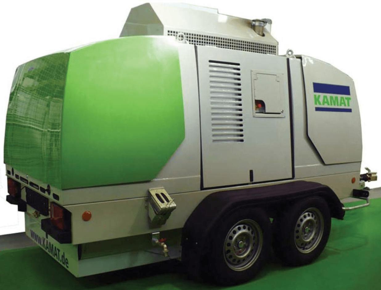 KAMJET 27/2800 - High Pressure Water Technology - 2800 BAR
