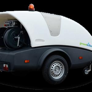 GreenKiller M - Hogedruk Unit voor variërende reiniging.
