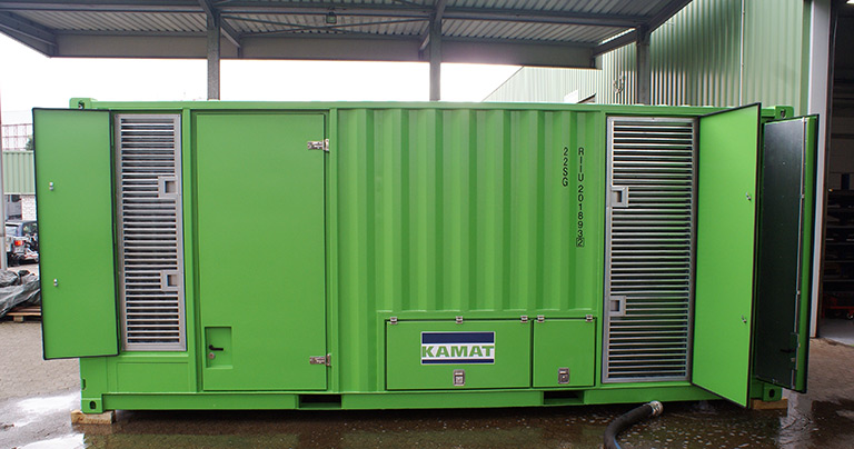 KAMAT High-pressure container unit K40036A-3G-DW530B